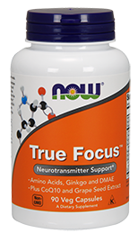 Now Foods True Focus  Brain Enhancement Supplement Review