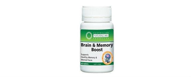 Australian NaturalCare Brain & Memory Boost Review