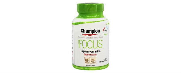 Champion Focus Review