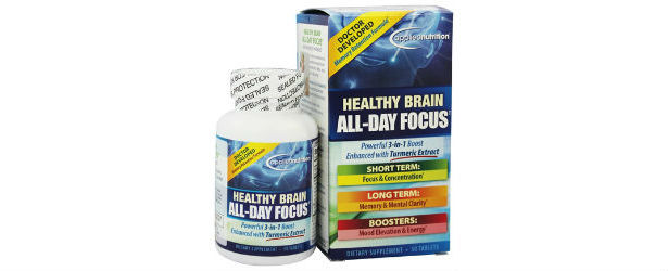 Applied Nutrition Healthy Brain All Day Focus Review