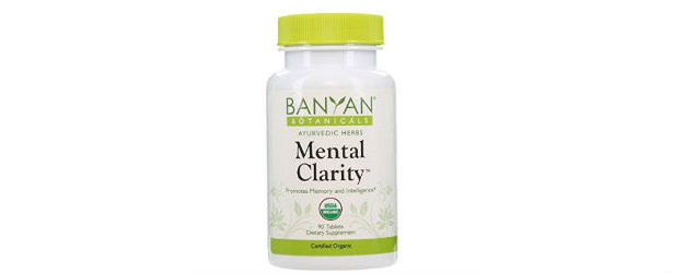 Banyan Botanicals Mental Clarity Tablets Review